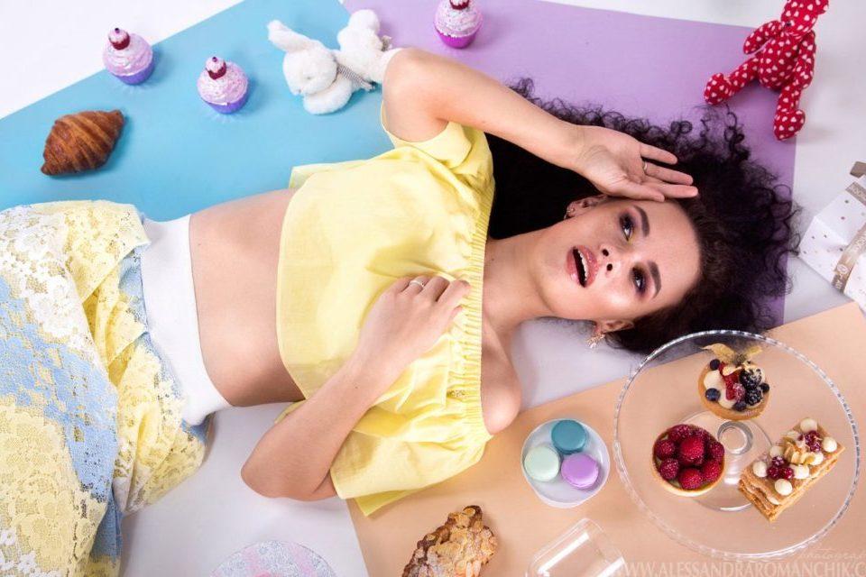 Таня Волкова, модель, интервью журналу COQUET