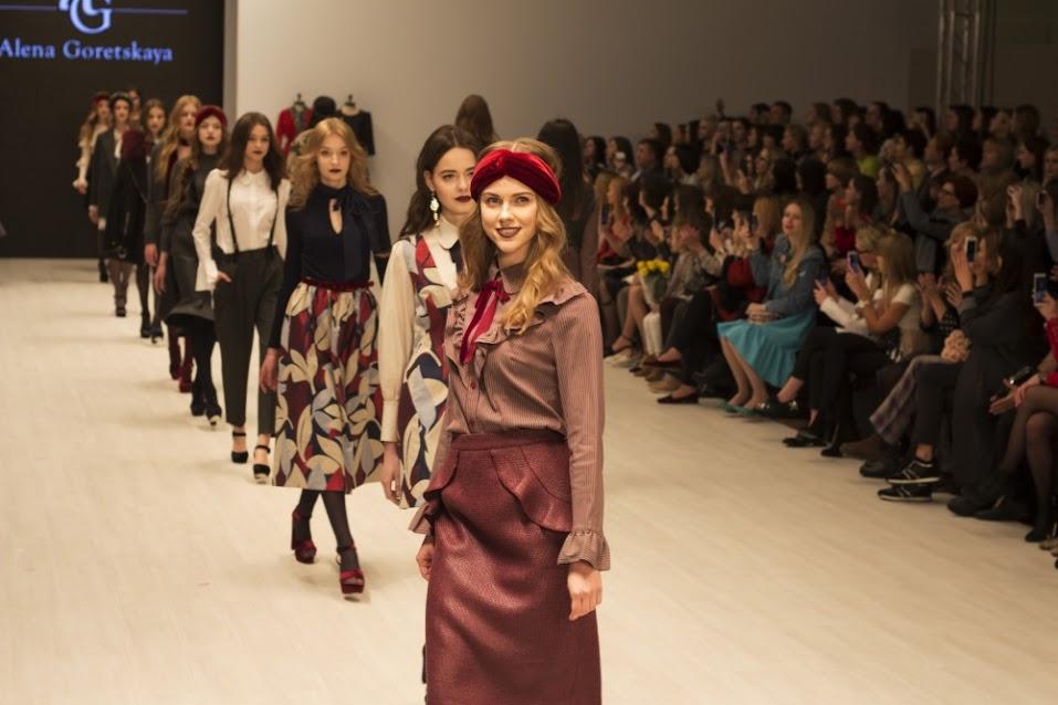 Показ бренда Alena Goretskaya Белорусская неделя моды 2017, журнал 2017