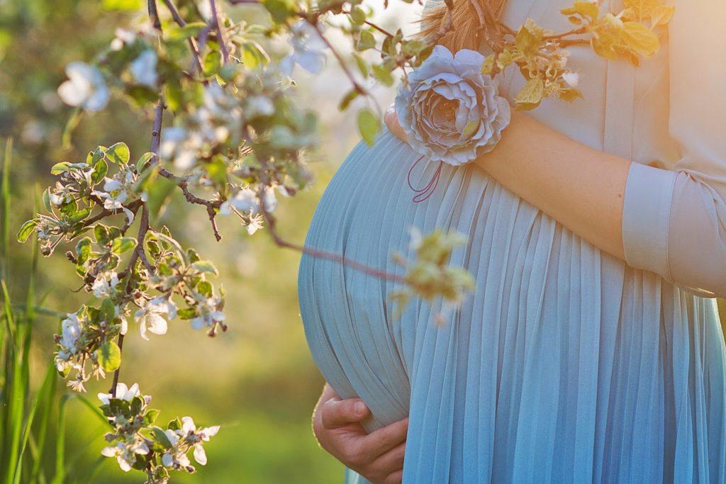 мода для беременных, фото журнал coquet