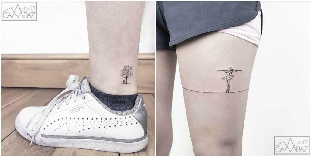 Изящные татуировки со смыслом от Ахмета Камбаза