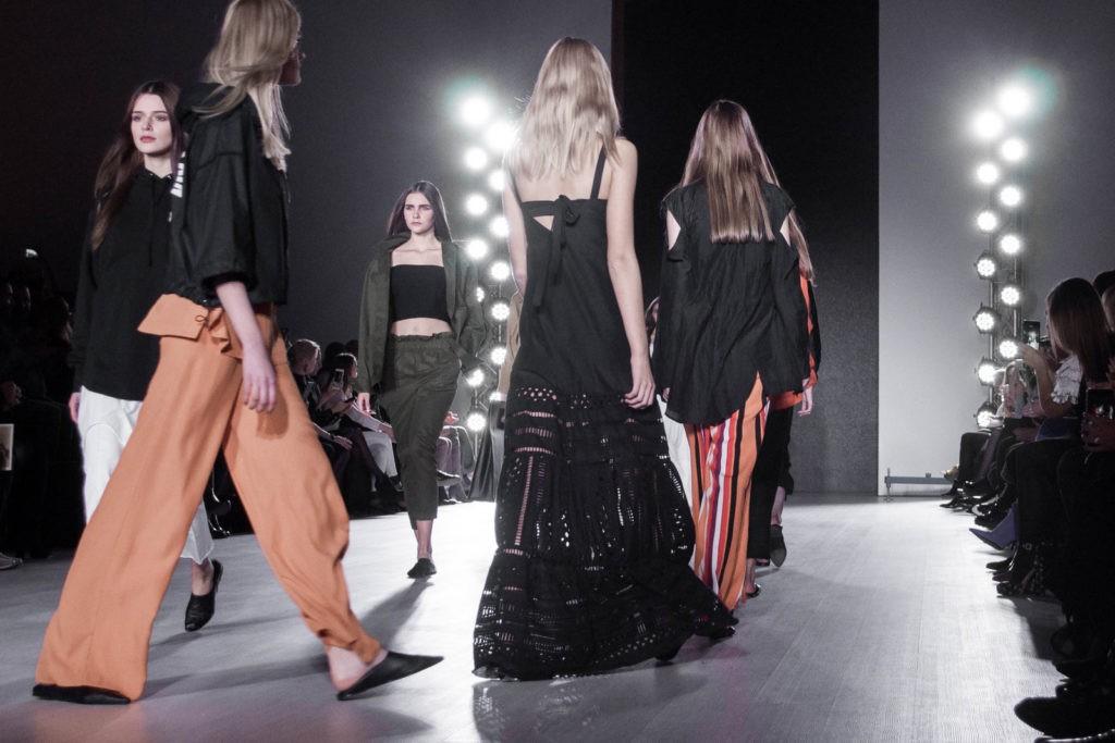Показ белорусского дизайнера Lakbi на белорусской неделе моды, Belarus Fashion Week ss2018, весна-лето 2018
