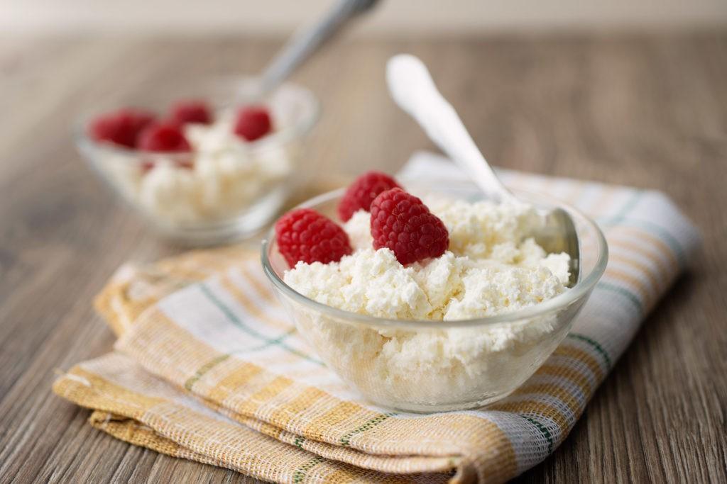 Полезный и здоровый завтрак, творог на завтрак