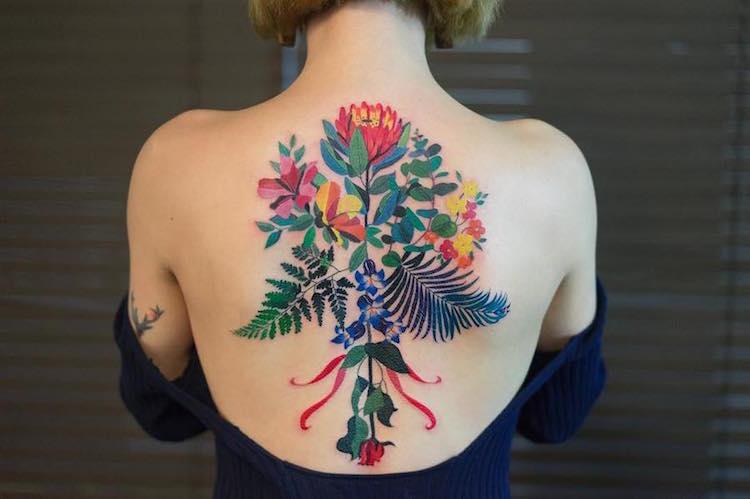 Изысканные и деликатные татуировки от корейского мастера, белорусский интернет-журнал coquet о моде, стиле, красоте и здоровье
