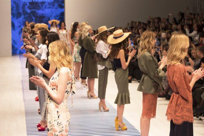 Показ Alena Goretskaya Белорусская неделя моды, Belarus Fashion Week