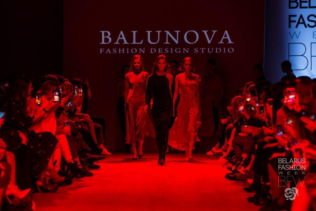 BFW AW 2019 Неделя моды Балунова, Balunova