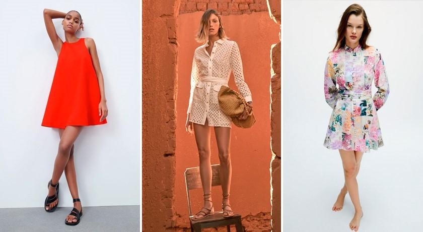Тренды платьев 2021, платье мини