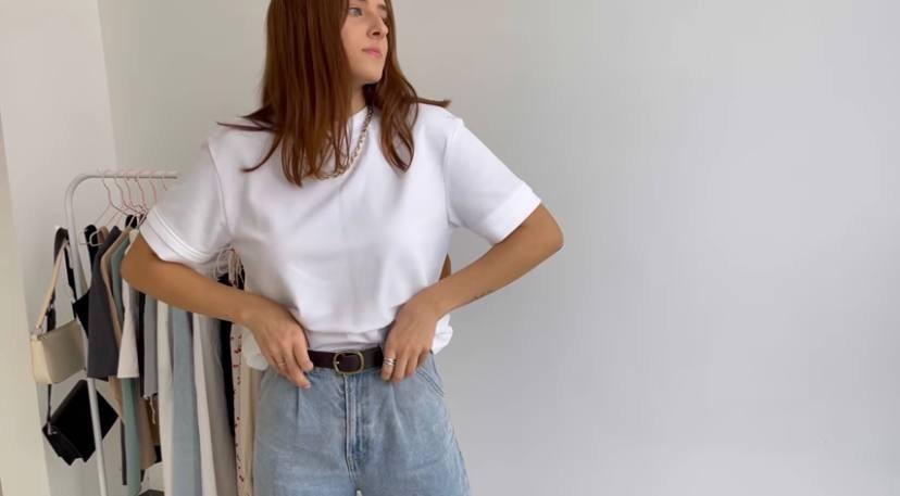 Джинсы, Белая рубашка, летний гардероб 2021, база
